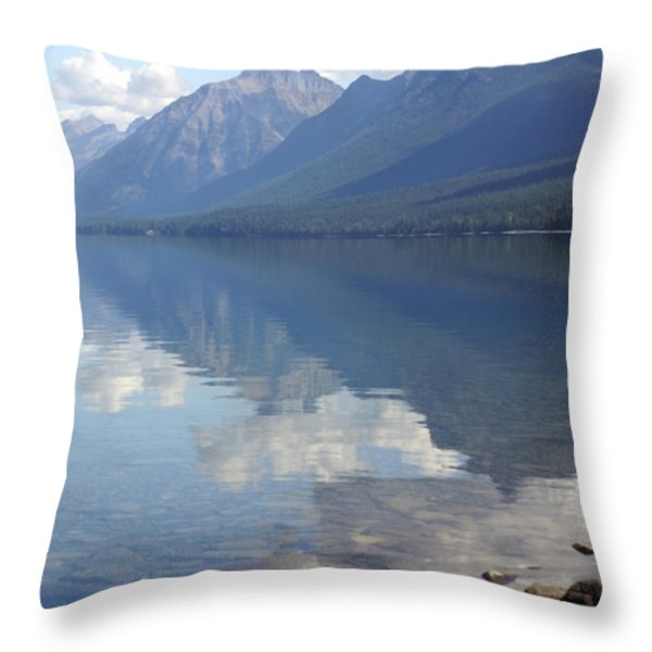 Mcdonald Reflection Throw Pillow by Marty Koch