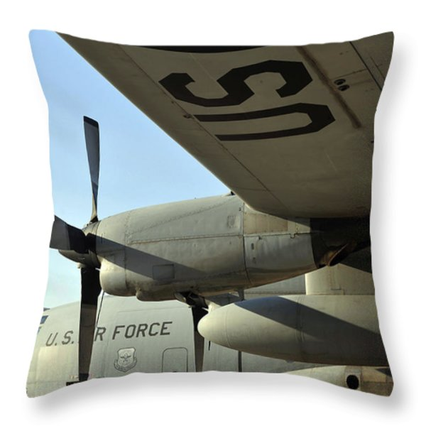 Mechanics Change An Auxiliary Power Throw Pillow by Stocktrek Images