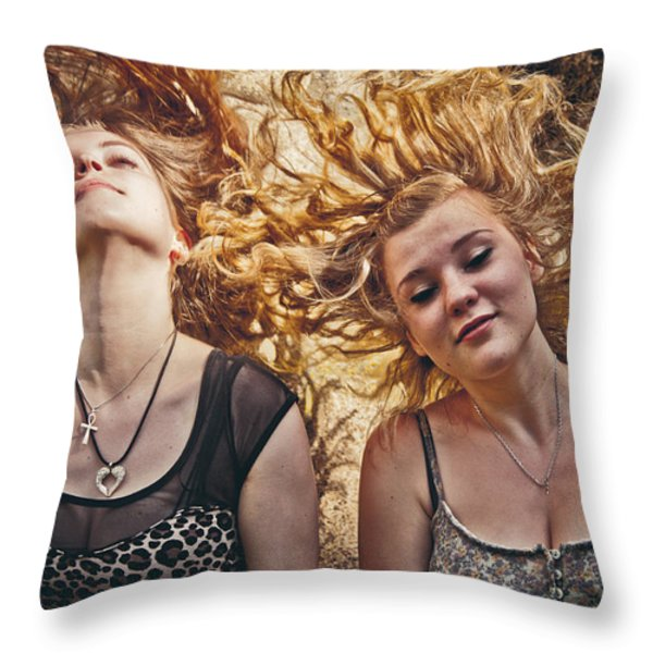 Medusae Throw Pillow by Loriental Photography