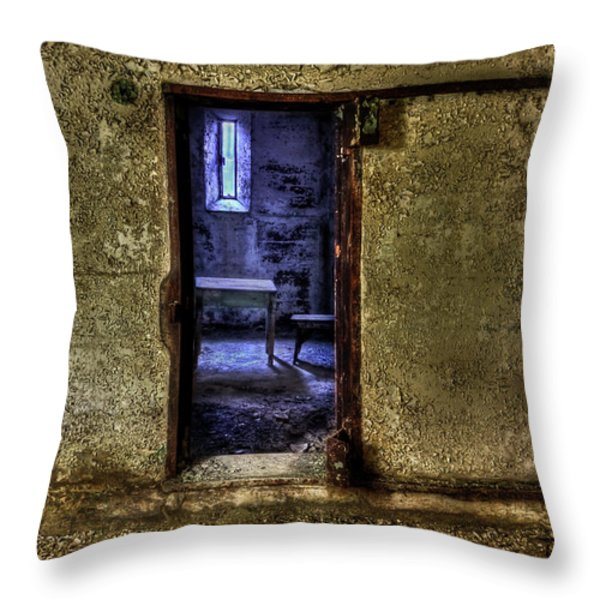 Memories From The Room Throw Pillow by Evelina Kremsdorf