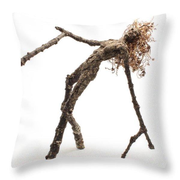 Memory Throw Pillow by Adam Long