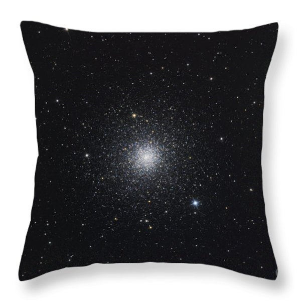 Messier 3, A Globular Cluster Throw Pillow by Roth Ritter
