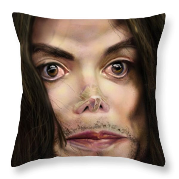 Michaels Magnum Opus 1 Throw Pillow by Reggie Duffie