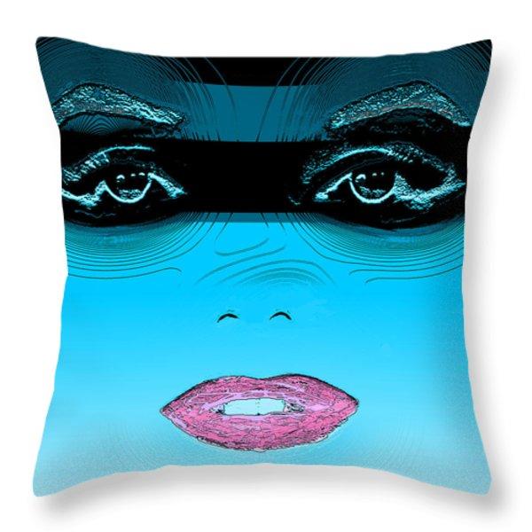 Midnight Swim Throw Pillow by Joy McKenzie