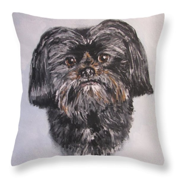 Mikey Throw Pillow by Jack Skinner