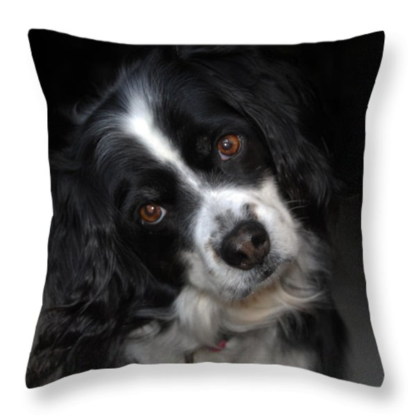 MISSY Throw Pillow by Skip Willits