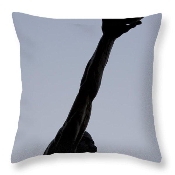 MJ II Throw Pillow by Andrei Shliakhau