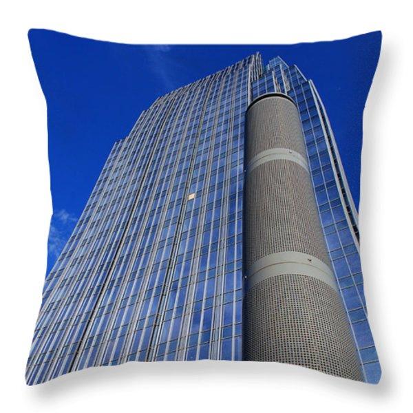Modern Architecture II Throw Pillow by Susanne Van Hulst
