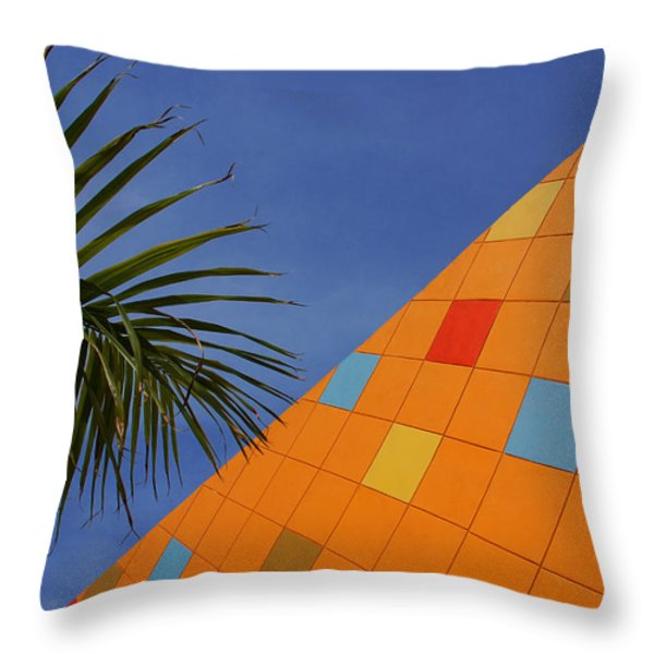 Modern Architecture Throw Pillow by Susanne Van Hulst