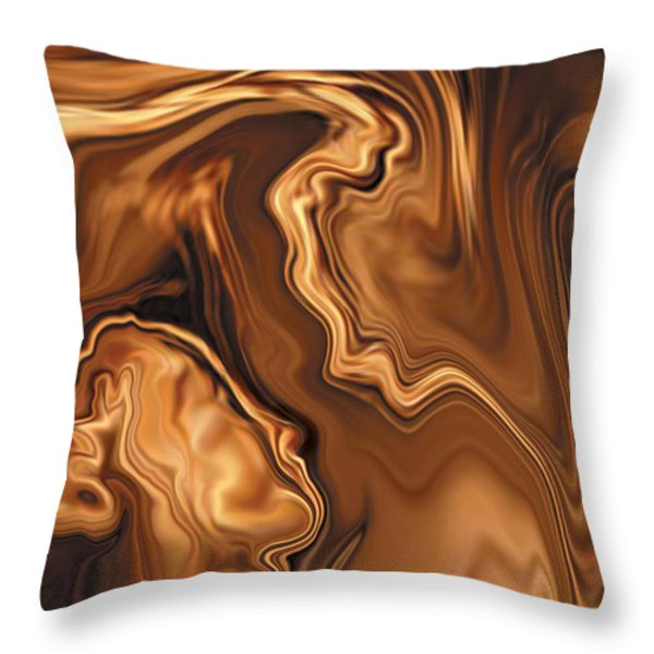 Moment Before The Kiss Throw Pillow by Rabi Khan