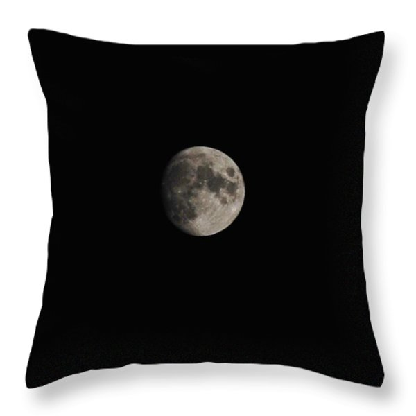 Moon Glow Throw Pillow by Living Waters Photography