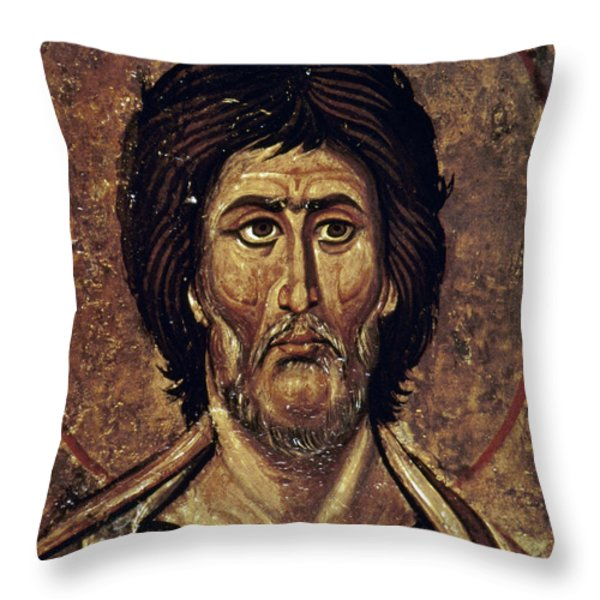 Moses Throw Pillow by Granger