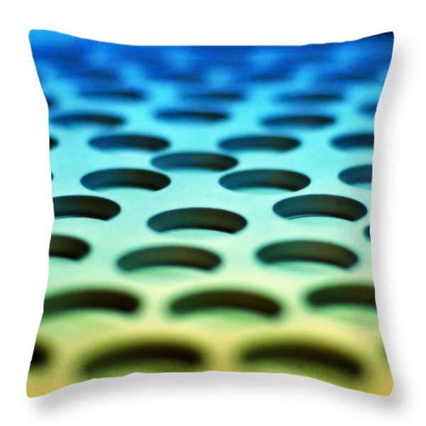 Mothership Throw Pillow by Skip Hunt