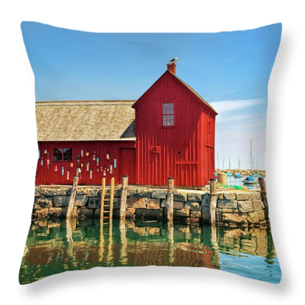 Motif One Throw Pillow by Marcia Colelli