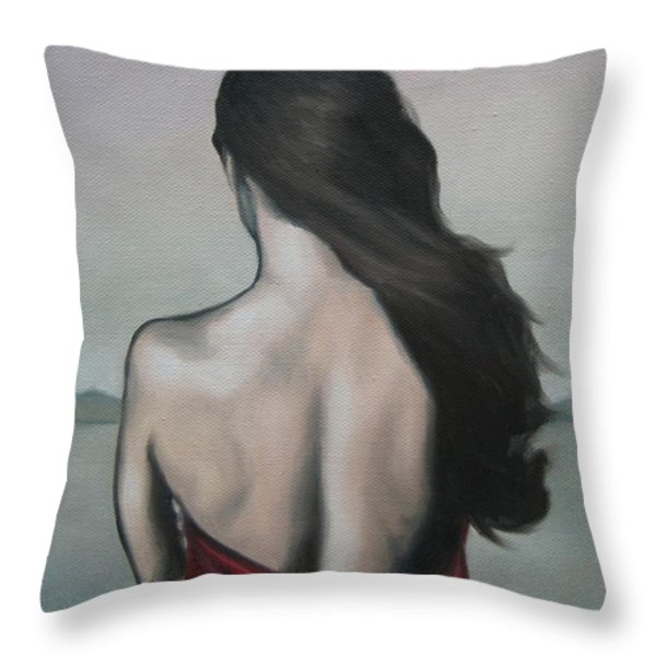 My Endlessness Throw Pillow by Jindra Noewi