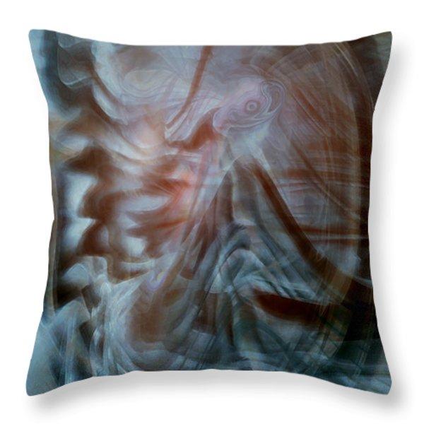 My Kingdom Throw Pillow by Linda Sannuti