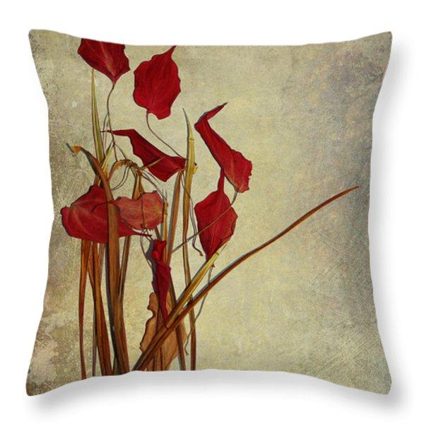 Nature Morte Du Moment Throw Pillow by Aimelle