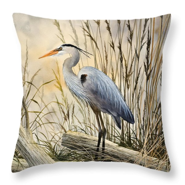 Nature's Wonder Throw Pillow by James Williamson