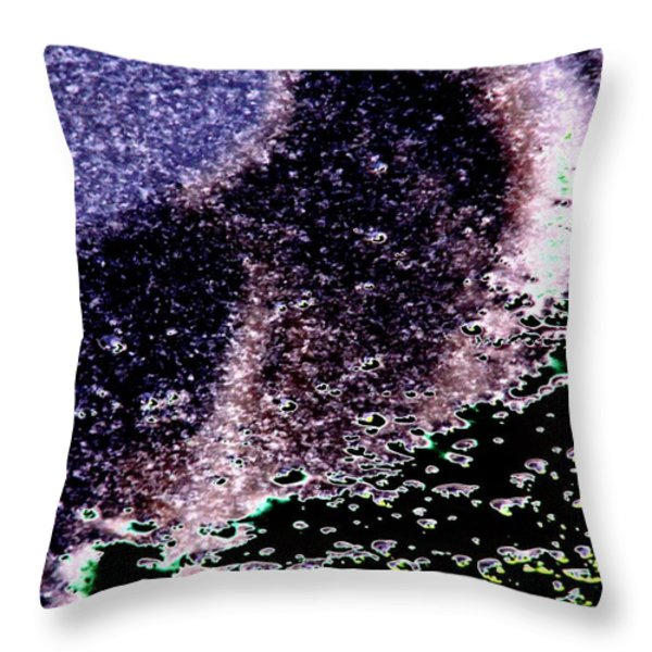 Needle Reflect Throw Pillow by Tim Allen