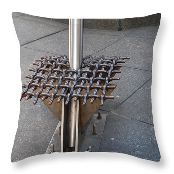 Needle Throw Pillow by Rob Hans