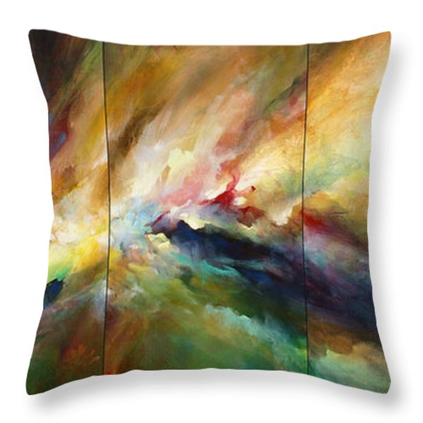 'neptunes Pass' Throw Pillow by Michael Lang