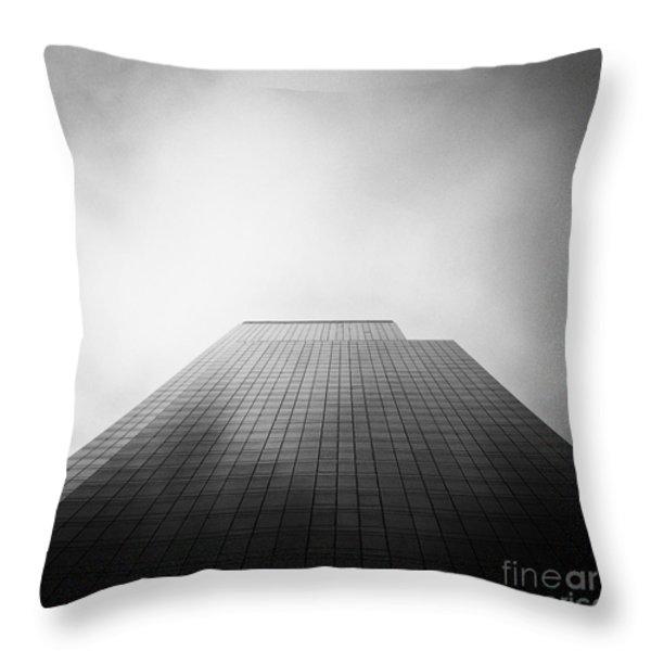 New York Skyscraper Throw Pillow by John Farnan