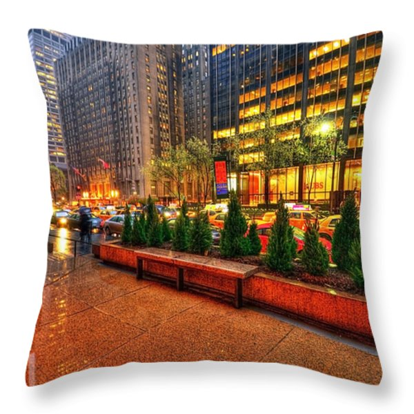 New York05 Throw Pillow by Svetlana Sewell