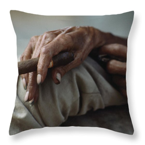 Ngs Photographer James L. Stanfield Throw Pillow by James L. Stanfield