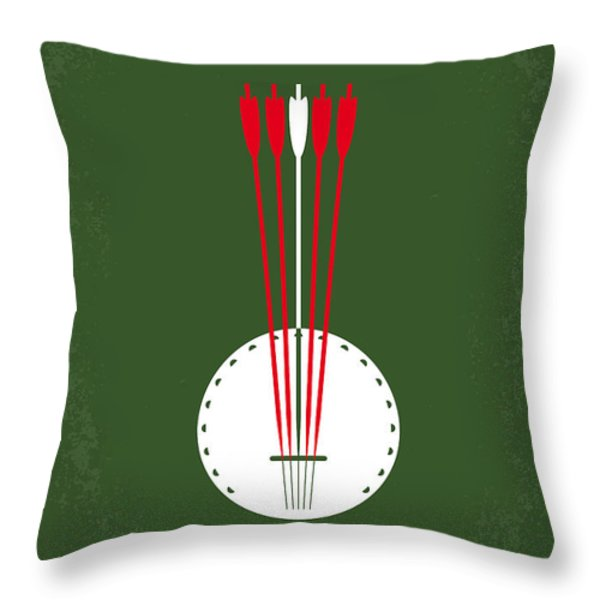 No020 My Deliverance Minimal Movie Poster Throw Pillow by Chungkong Art