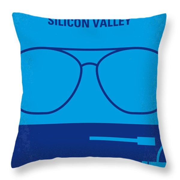 No064 My Pirates of Silicon Valley minimal movie poster Throw Pillow by Chungkong Art