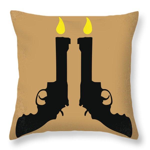 No071 My Rocknrolla Minimal Movie Poster Throw Pillow by Chungkong Art