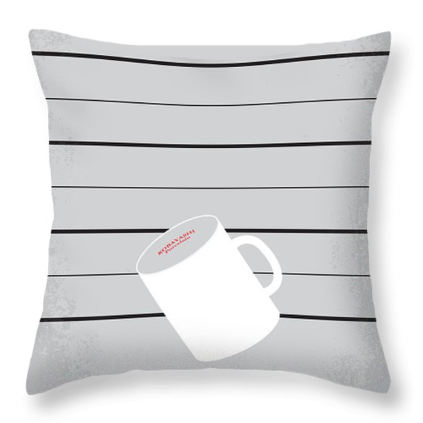No095 My The usual suspects minimal movie poster Throw Pillow by Chungkong Art