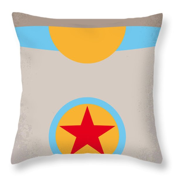 No171 My Luxo Jr Minimal Movie Poster Throw Pillow by Chungkong Art