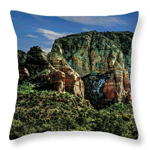 Nobody Paints Like Mama Throw Pillow by Jon Burch Photography