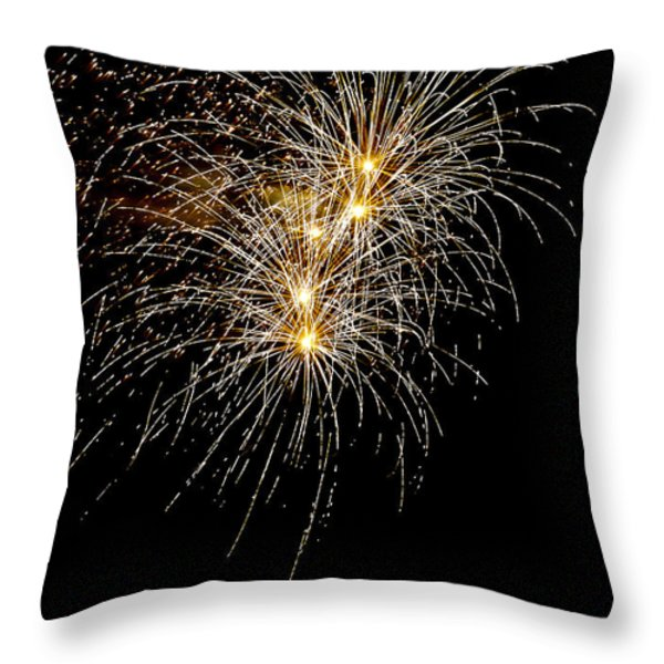 Northern Star Throw Pillow by Phill  Doherty