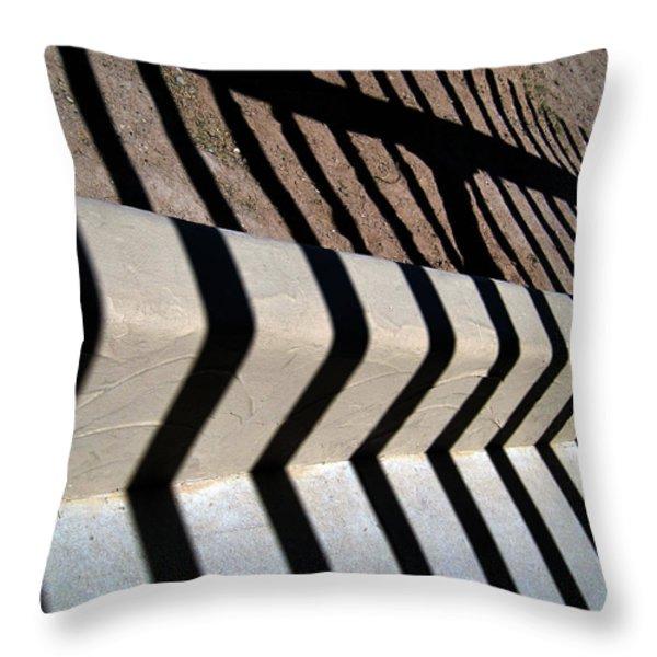 Not A Zebra Throw Pillow by Susanne Van Hulst