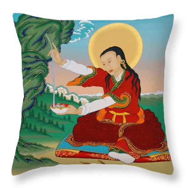 Nyak Jnanakumara Throw Pillow by Sergey Noskov