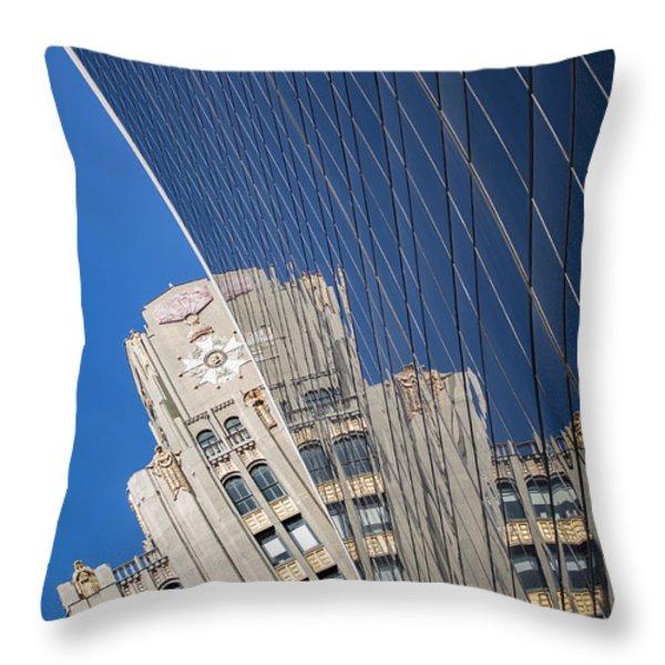 Nyc 585 Throw Pillow by Tony Maduro
