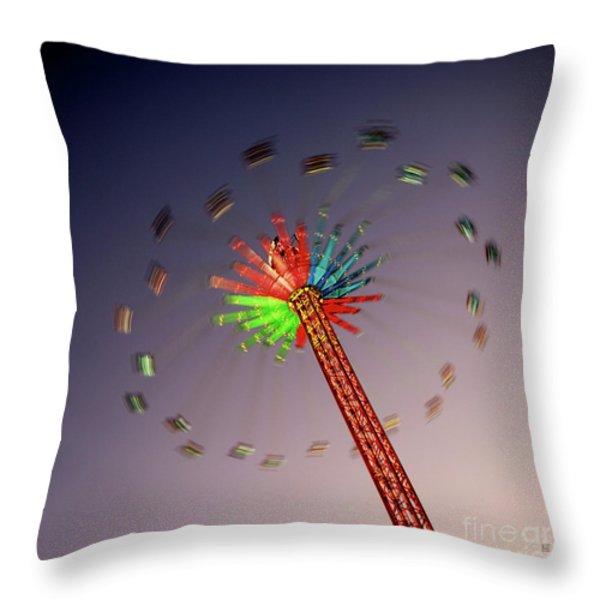 Ois Draht Si 2 Throw Pillow by Hannes Cmarits