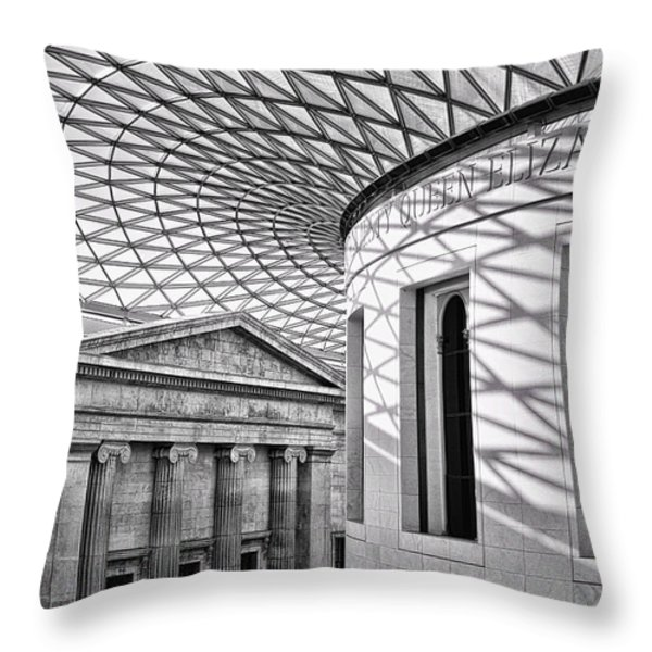 Old and New Throw Pillow by Heather Applegate
