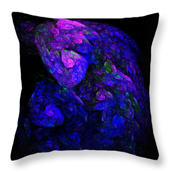 Old Man Take a Look at Yourself Throw Pillow by David Lane