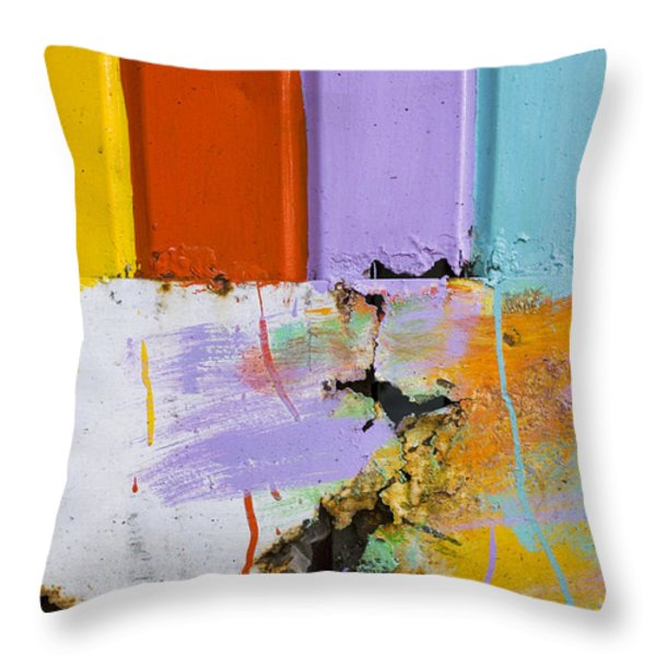 Once Upon A Circus Throw Pillow by Skip Hunt