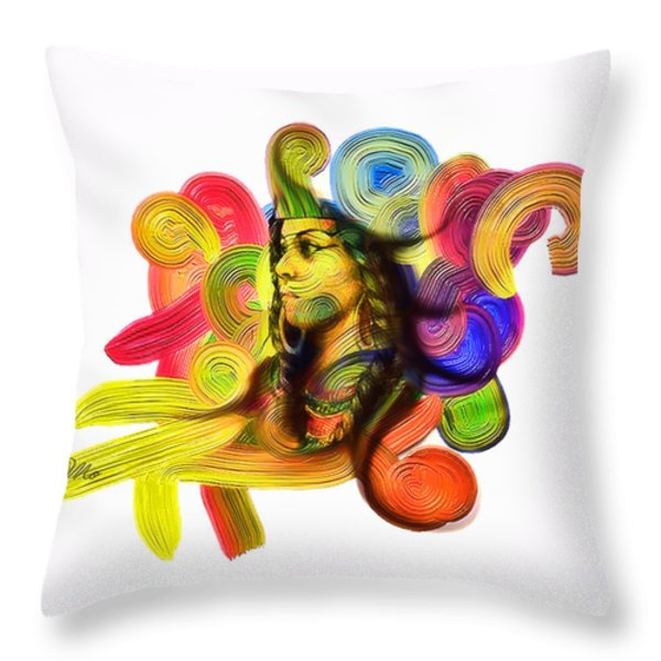 One Part 1 Throw Pillow by Mo T