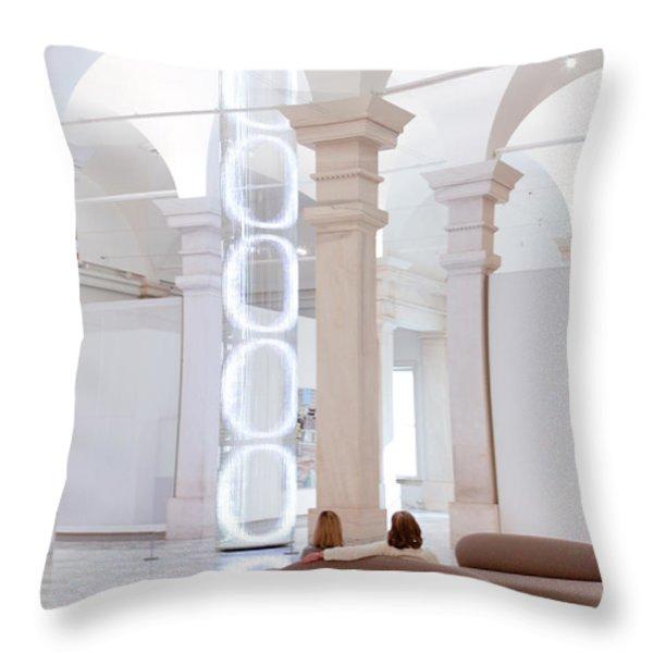 Ooooo Throw Pillow by Julie Niemela