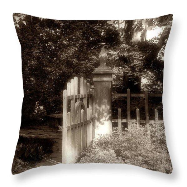 Open Invitation Throw Pillow by Tom Mc Nemar