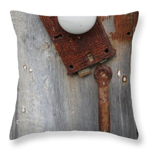 Open Up Throw Pillow by Lauri Novak