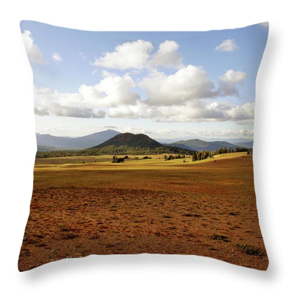 'oregon My Oregon' Throw Pillow by Christine Till