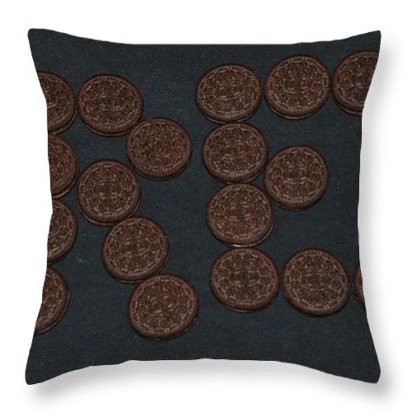 OREO Throw Pillow by ROB HANS