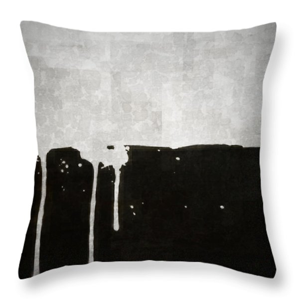 Origin Throw Pillow by Brett Pfister