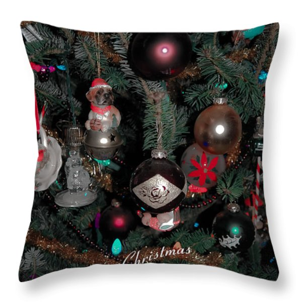Ornamental Throw Pillow by DigiArt Diaries by Vicky B Fuller
